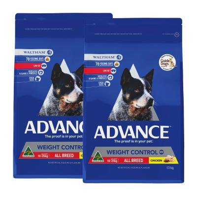 Advance Weight Control All Breed Chicken Adult Dry Dog Food 26kg