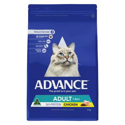 Advance Chicken Adult Dry Cat Food 3kg