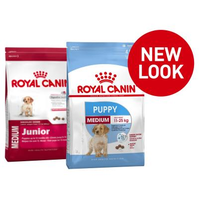 Royal Canin Medium Puppy/Junior Dry Dog Food 15kg