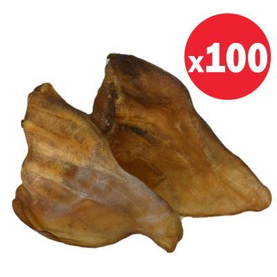 Australian Pettreats Beef Ear Treats For Dogs x 100