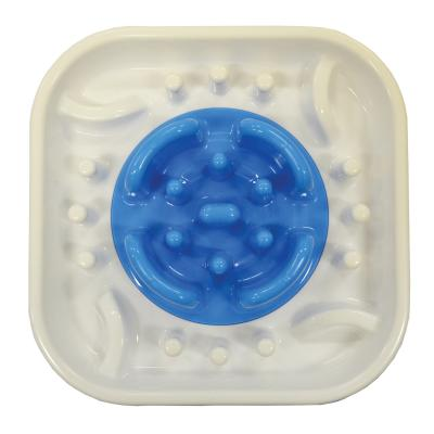 Scream Slow Feed Interactive Bowl Loud Blue For Dogs
