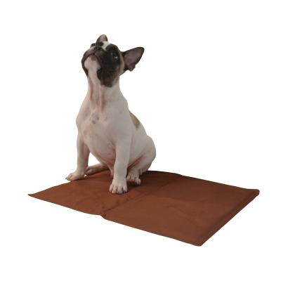 ZeeZ Cooling Pad Mat Bronze Medium 65 x 50cm For Dogs And Cats