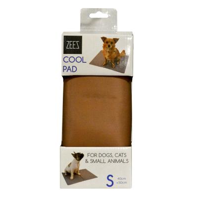 ZeeZ Cooling Pad Mat Bed Bronze Small 40 x 50cm For Dogs And Cats