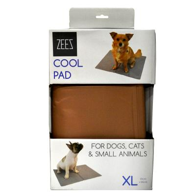ZeeZ Cooling Pad Mat Bronze XLarge 81 x 96cm For Dogs And Cats