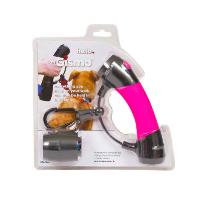 I'm Gismo Starter Kit With Lead Handle And Poop Bag Dispenser Pink For Dogs