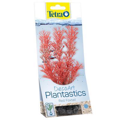 Tetra DecoArt Plantastics Red Foxtail Fish Tank Aquarium Plant Small