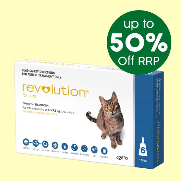 Revolution Cat 6 Pack