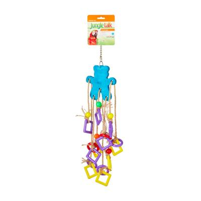 Jungle Talk Lots Of Legs Activity Toy For Large Birds