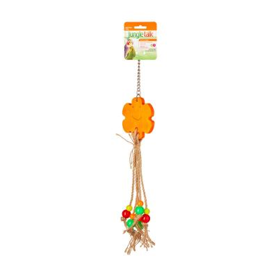 Jungle Talk Loves Me Knot Small-Medium Toy For Birds