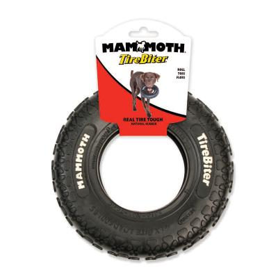 Mammoth TireBiter Paw Tread Rubber Toy For Medium Dogs