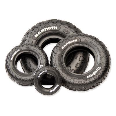 Mammoth TireBiter Paw Tread Rubber Toy For Medium Dogs