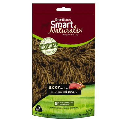 Smart Bones Smart Naturals Beef & Sweet Potato Treats For Dogs 113g