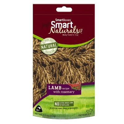 Smart Bones Smart Naturals Lamb & Rosemary Treats For Dogs 113g