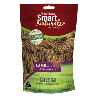 Smart Bones Smart Naturals Lamb & Rosemary Treats For Dogs 226g