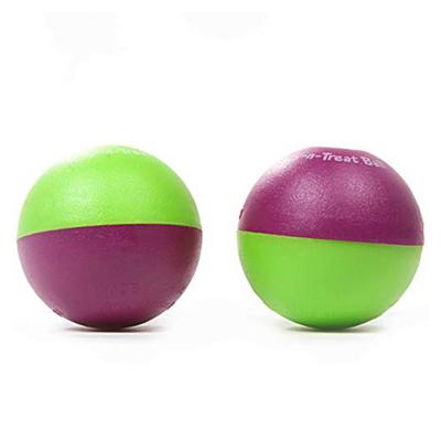 GoCatGo Play-N-Treat Ball Interactive Treat Dispensing Toy For Cats 2 Pack