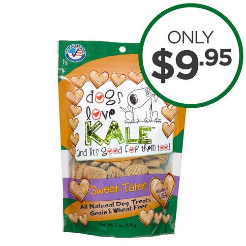 Dogs Love Kale