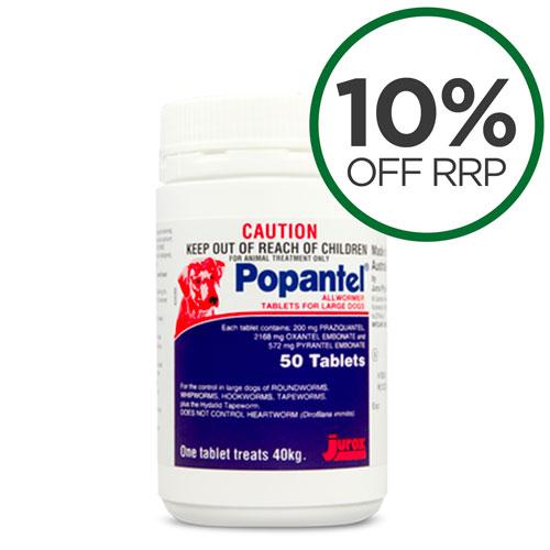 Popantel Allwormer Tablets