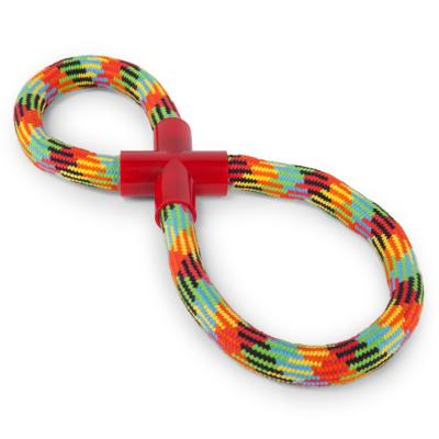 Kazoo Braided Rope Figure 8 Tug Toy For Dogs