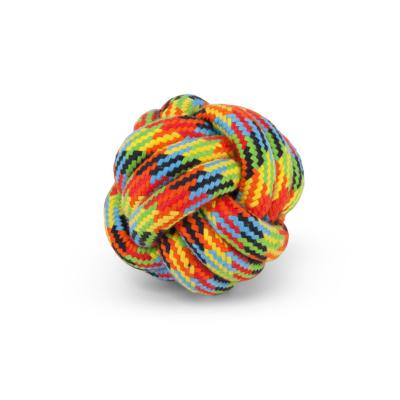 Kazoo Braided Rope Knot Ball Toy Medium Toy For Dogs