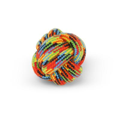 Kazoo Braided Rope Knot Ball Small Toy For Dogs