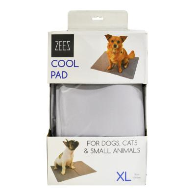 ZeeZ Cool Pad Silver XLarge 81 x 96cm For Dogs And Cats