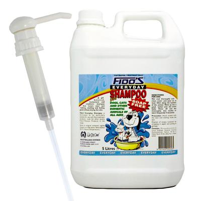 Fidos Everyday Shampoo For Dogs And Cats 5L With Pump Nozzle