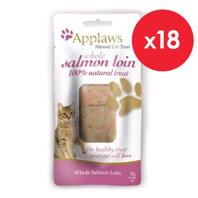 Applaws Whole Salmon Loin Treats For Cats 25g x 18