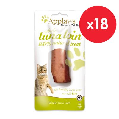 Applaws Whole Tuna Loin Treats For Cats 30g x 18