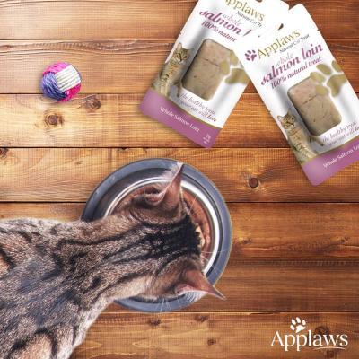 Applaws Whole Mackerel Salmon Tuna Loin Treats For Cats 25-30g x 3