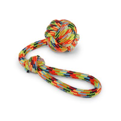 Kazoo Braided Rope Sling Knot Ball Medium Toy For Dogs