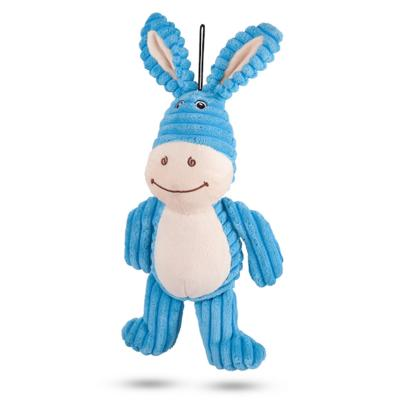 Kazoo Furries Funky Donkey Medium Soft Squeak Toy For Dogs