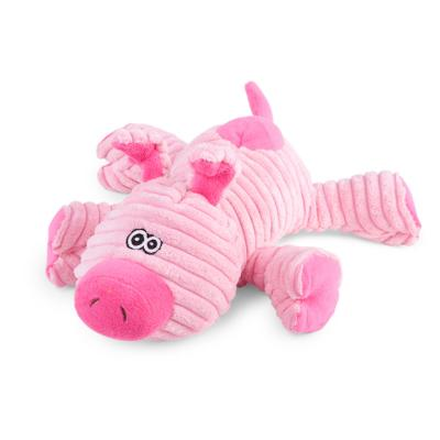 Kazoo Furries Funky Pig Medium Soft Squeak Toy For Dogs