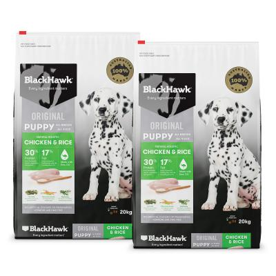 Black Hawk Chicken And Rice Puppy Dry Dog Food 40kg