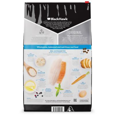 Black Hawk Fish And Potato Adult Dry Dog Food 40kg