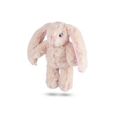Kazoo Furries Long Eared Bunny Small Soft Squeak Toy For Dogs