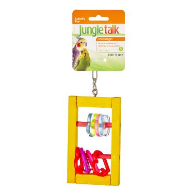 Jungle Talk Slide 'N Spin Small Toy For Birds