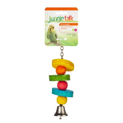 Jungle Talk Jungle Jingle Wood Small-Medium Toy For Birds