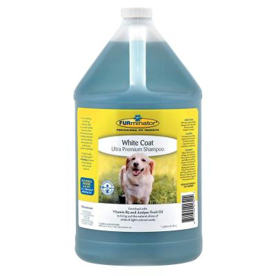 Furminator Ultra Premium White Coat Shampoo For Dogs 3.78L