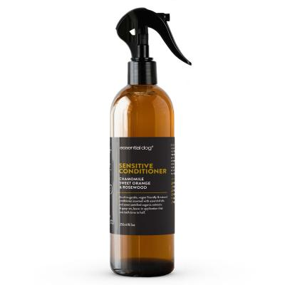 Essential Dog Sensitive Conditioner Chamomile Sweet Orange And Rosewood For Dogs 250ml