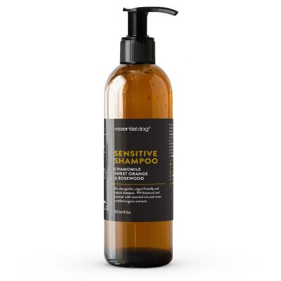 Essential Dog Sensitive Shampoo Chamomile Sweet Orange And Rosewood For Dogs 250ml