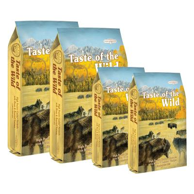 Taste of the Wild Grain Free High Prairie Roasted Bison And Venison Adult Dry Dog Food 38kg