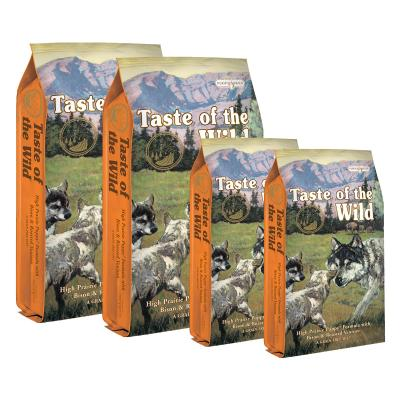 Taste of the Wild Grain Free High Prairie Roasted Bison And Venison Puppy Dry Dog Food 38kg