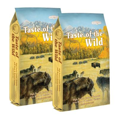 Taste of the Wild Grain Free High Prairie Roasted Bison And Venison Adult Dry Dog Food 26kg