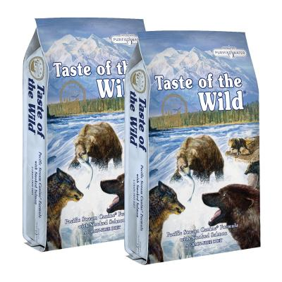 Taste of the Wild Grain Free Pacific Stream Smoked Salmon Adult Dry Dog Food 26kg