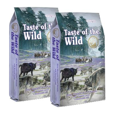 Taste of the Wild Grain Free Sierra Mountain Roasted Lamb Puppy And Adult Dry Dog Food 26kg