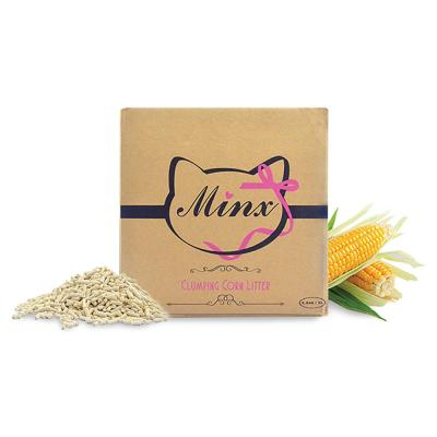 Minx Clumping Corn Cat Litter 1 Month Supply 2.5kg