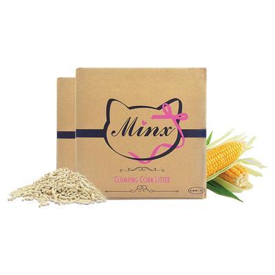 Minx Clumping Corn Cat Litter 2 Month Supply 5kg
