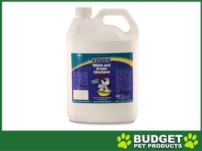 Fidos Shampoo White And Bright For Dogs And Cats 5L