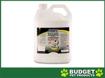 Fidos Shampoo Black Gloss For Dogs And Cats 5L