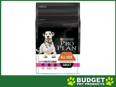 Pro Plan Optirestore Sensitive Skin And Stomach All Size Adult Dry Dog Food 12kg